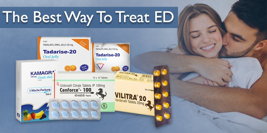 The Best Way to Treat Erectile Dysfunction