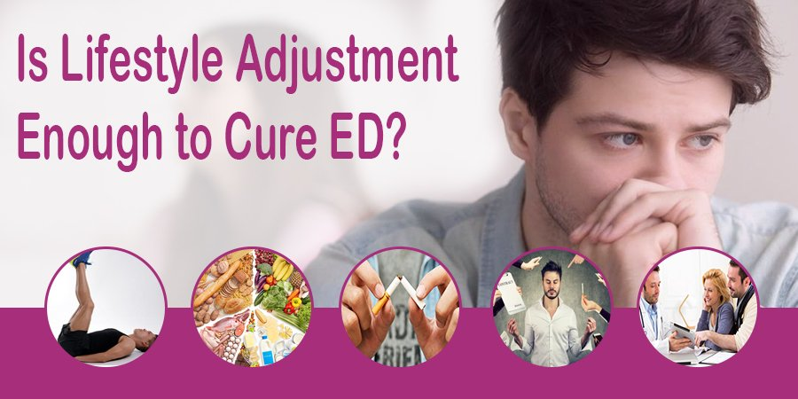 Is Lifestyle Adjustment Enough to Cure ED?